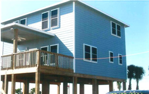 hurricane screens on beach home